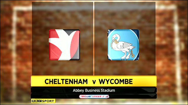 Cheltenham 1-2 Wycombe