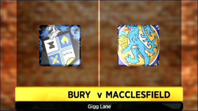 Bury v Macclesfield