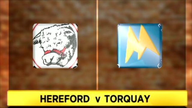 Hereford 2-2 Torquay