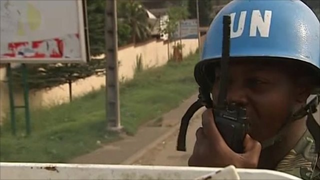 UN troops in Ivory Coast