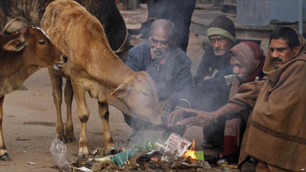 Резкое похолодание на севере индии