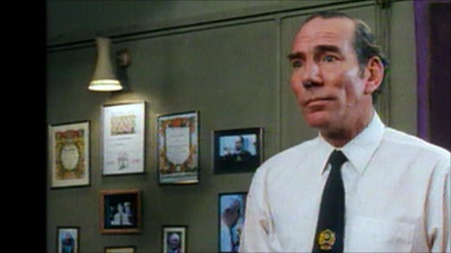 Pete Postlethwaite in Brassed Off, by Four Film