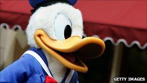 Donald Duck 'groping' case upheld