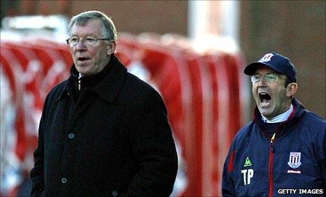 Sir Alex Ferguson and Tony Pulis
