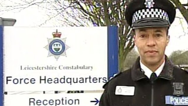 Chief Inspector Nick Glynn, of Leicestershire Police