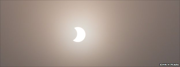 Partial eclipse (John H Pears)