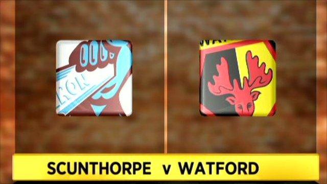 Scunthorpe 1-2 Watford