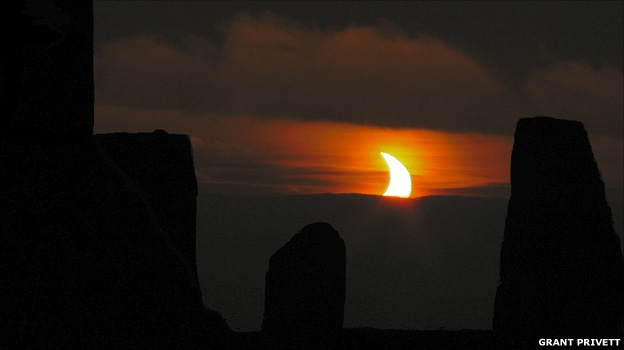 Partial eclipse (Grant Privett)