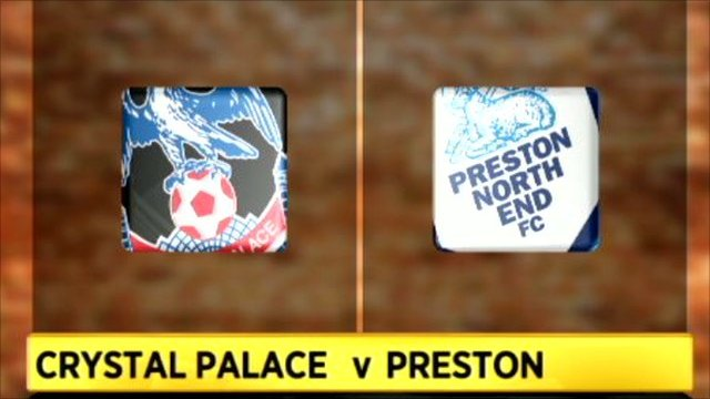 Crystal Palace 1-0 Preston North End