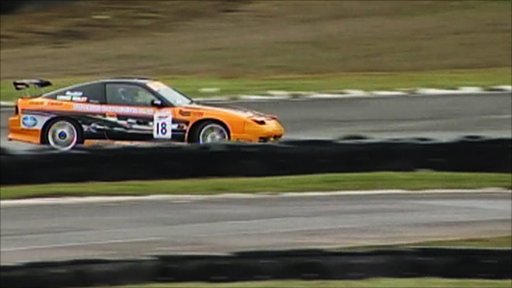 Drifting at South Tees Motorsports Park
