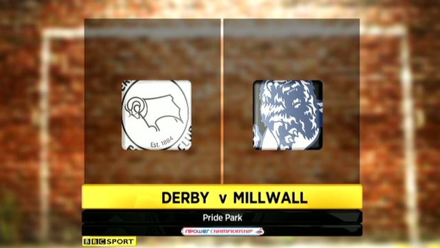 Derby County v Millwall