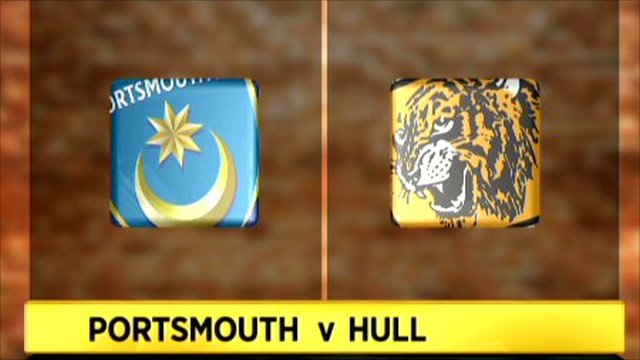 Portsmouth v Hull