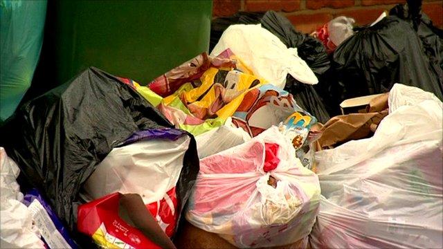Waste heap in Birkenhead