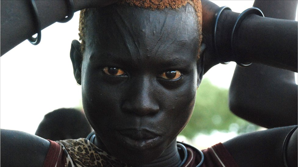 Bbc news in pictures south sudan set to secede mundari herder from southern sudans central equatoria state sciox Images