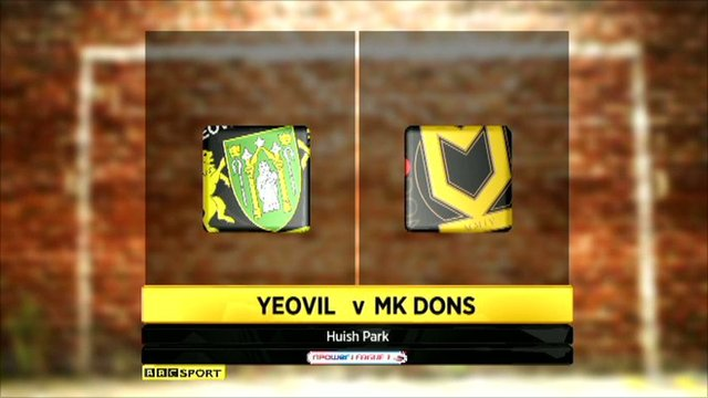 Yeovil v MK Dons