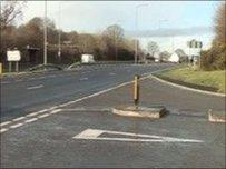 Cyffordd Cwmgwili A48 Cwmgwili