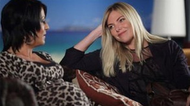 EastEnders actresses Jessie Wallace and Samantha Womack