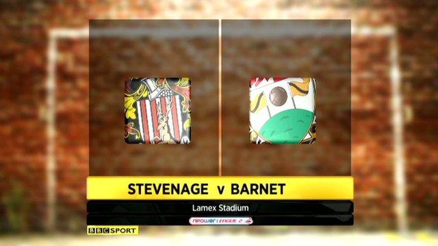 Stevenage v Barnet