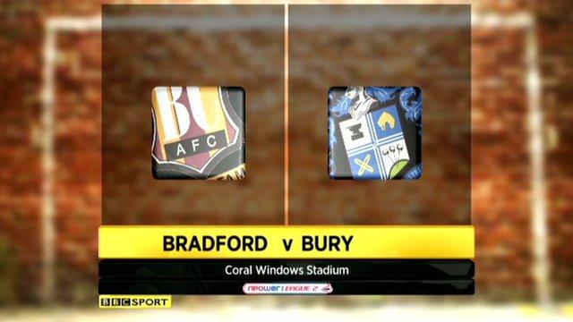 Bradford City v Bury