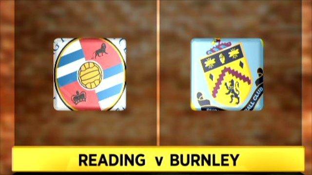 Reading v Burnley
