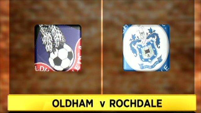 Oldham v Rochdale