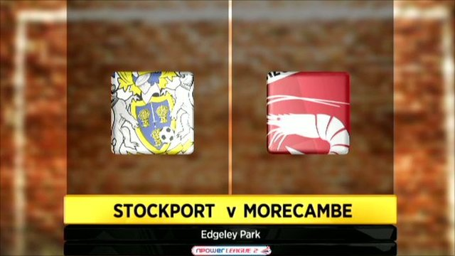 Stockport 0-2 Morecambe