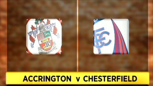 Accrington 2-2 Chesterfield