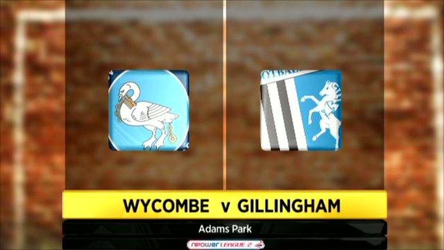 Wycombe 1-0 Gillingham