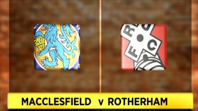 Macclesfield 0-2 Rotherham