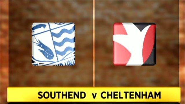 Southend v Cheltenham