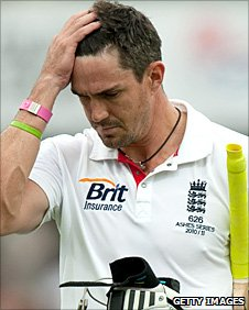 Kevin Pietersen is out