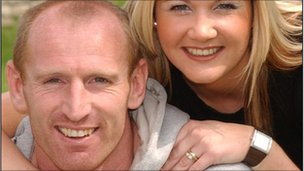 Gareth and Jemma Thomas