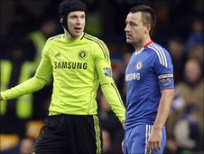 Petr Cech and John Terry