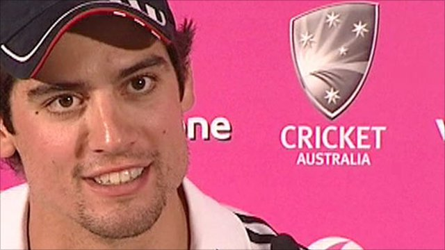 England's Alastair Cook