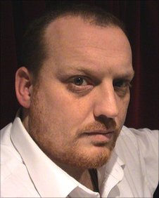 Ross Andrews, organiser of the Cheltenham Paranormal Festival
