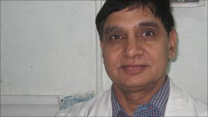 Dr DP Singh, head of Radiotherapy and Oncology at SMS hospital in Jaipur