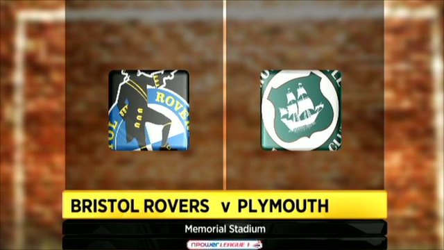 Bristol Rovers 2-3 Plymouth Argyle