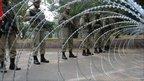 Pakistani paramilitary soldiers