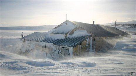 Capt Robert Scott's Antarctic hut. Pic: UK Antarctic Heritage Trust/PA Wire