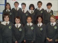 School Reporters at the Cotswold School Academy, Gloucestershire