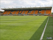 Cambridge United's Abbey Stadium