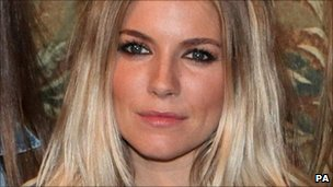 Actress Sienna Miller
