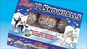 Box of snowballs
