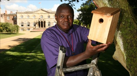 Archbishop of York at Bishopthorpe Palace. Copyright: Kippa Matthews