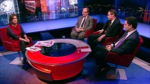 Newsnight political panel