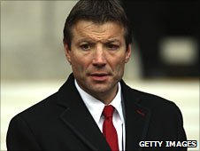 Outgoing RFU director of elite rugby Rob Andrew