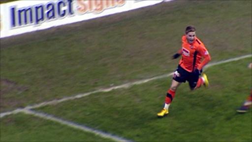 Dundee Utd striker David Goodwillie