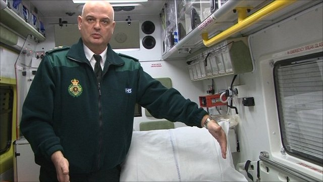 Accident and emergency logistics manager Nigel Wells