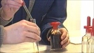 Pupils' science experiment