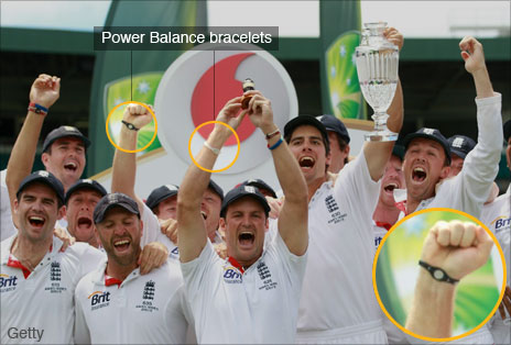 England&#039;s winning Ashes team